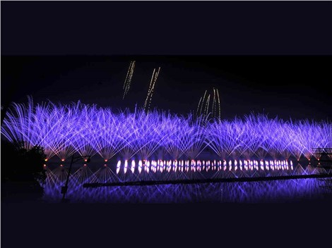 The opening ceremony of the 11th International Fireworks Festival in Liuyang